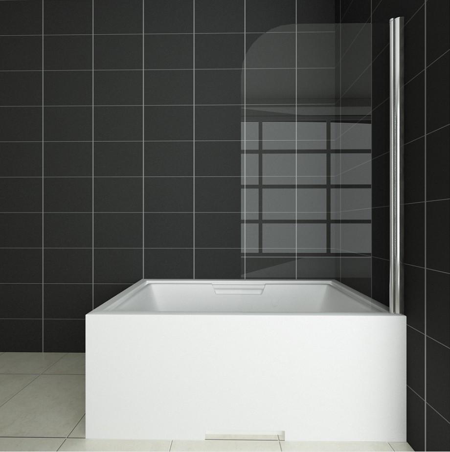 badewanne duschwand 180 trennwand duschabtrennung 80x140cm nano glas b1e 93 99 ozean. Black Bedroom Furniture Sets. Home Design Ideas