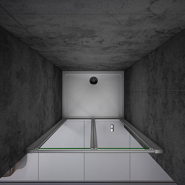 duschkabine duschabtrennung faltt r glass duschwand dusche 70x185cm ohne duschtasse br70m. Black Bedroom Furniture Sets. Home Design Ideas