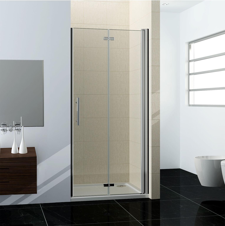 90cm duschabtrennung nischentr dusche schwingtr ohne duschtasse - Dusche Pendeltur Schwingtur