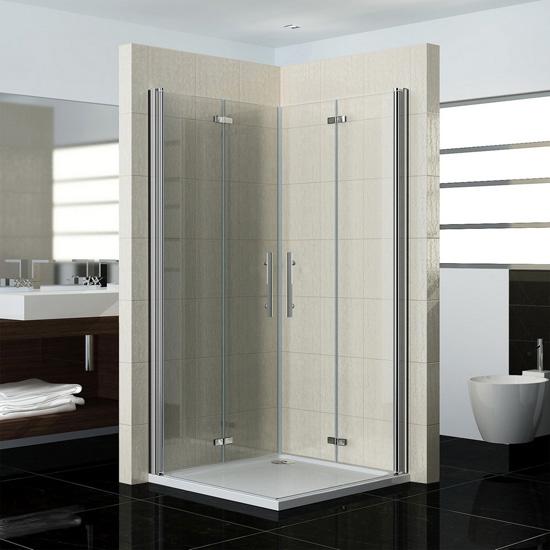 duschkabine duschabtrennung scharniert r eckeinstieg ohne duschtasse. Black Bedroom Furniture Sets. Home Design Ideas