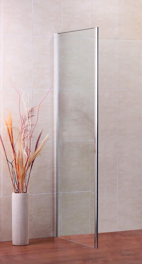 Duschabtrennung glaswand  185cm Höhe Seitenwand Duschkabine Glaswand Duschabtrennung ...