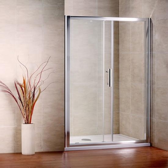Dusche Glaswand Kalk : Dusche Schiebet?r : 100cm Duschabtrennung Duschwand Dusche
