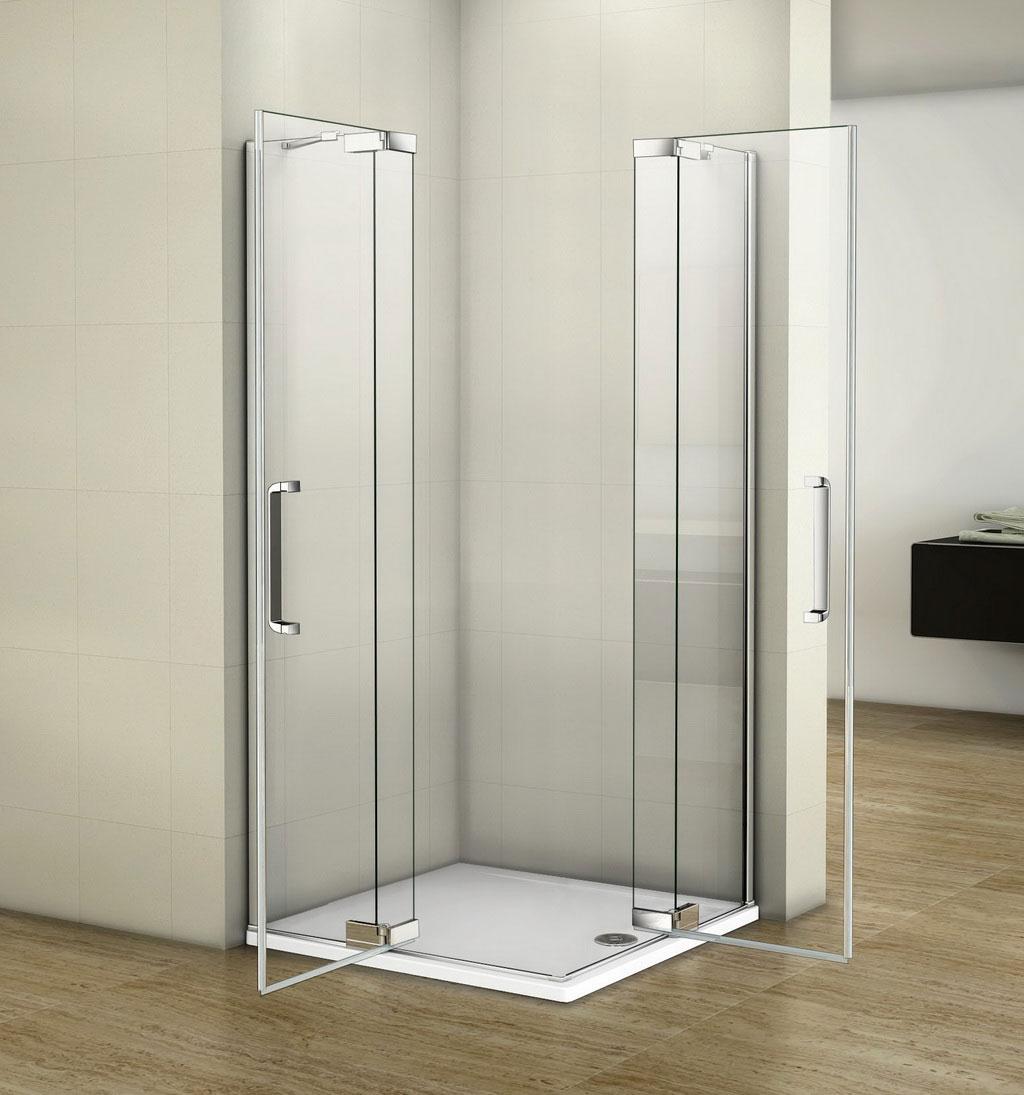 90x80cm - Ozean Sanitär GmbH - EShop | {Duschkabine glas 77}
