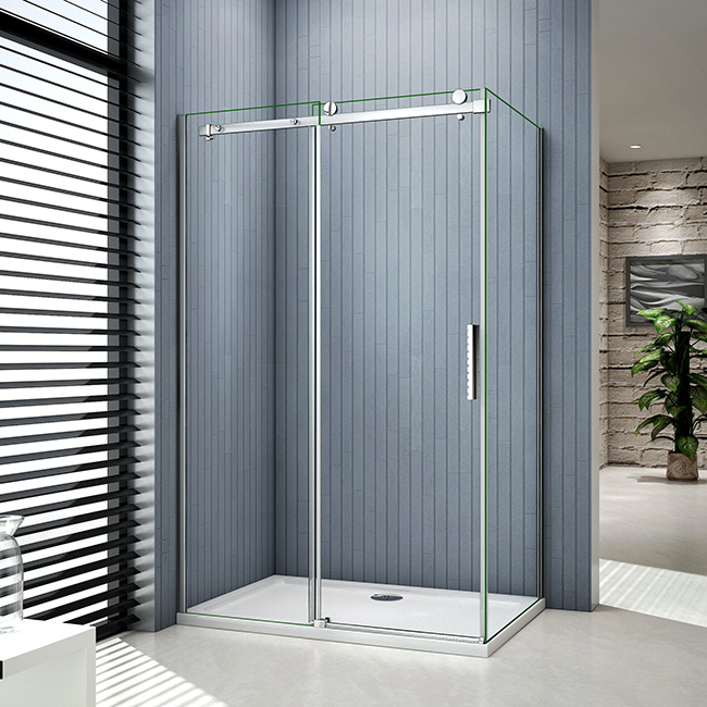 duschabtrennung schiebet r duschkabine duschwand dusche echtglas ohne duschtasse skxx 2 spkxx. Black Bedroom Furniture Sets. Home Design Ideas