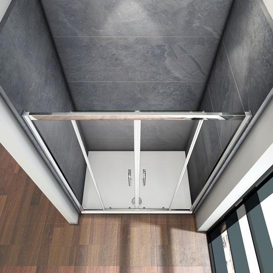 120cm duschkabine duschabtrennung doppel schiebet r ohne duschtasse sm42m 149 99 ozean. Black Bedroom Furniture Sets. Home Design Ideas