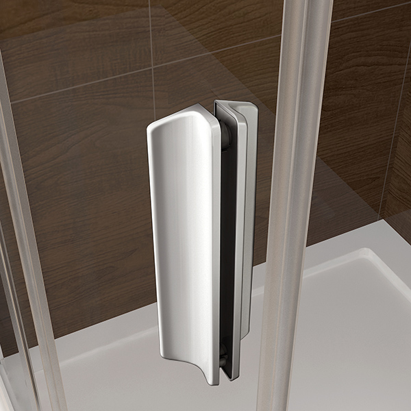 110cm duschabtrennung duschwand dusche schiebet r nischent r ohne duschtasse sr11m 125 99. Black Bedroom Furniture Sets. Home Design Ideas