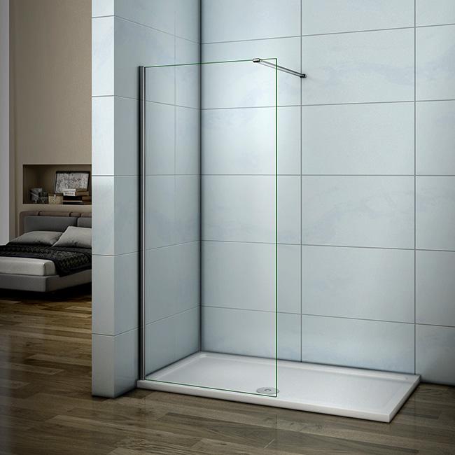Sehr Neu Walk in 8mm Duschabtrennung Duschwand Echtglas Dusche FL47