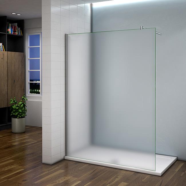 Glas Duschabtrennung.Duschtrennwand 10mm Nano Glas Duschabtrennung Duschkabine Duschwand 110x200cm