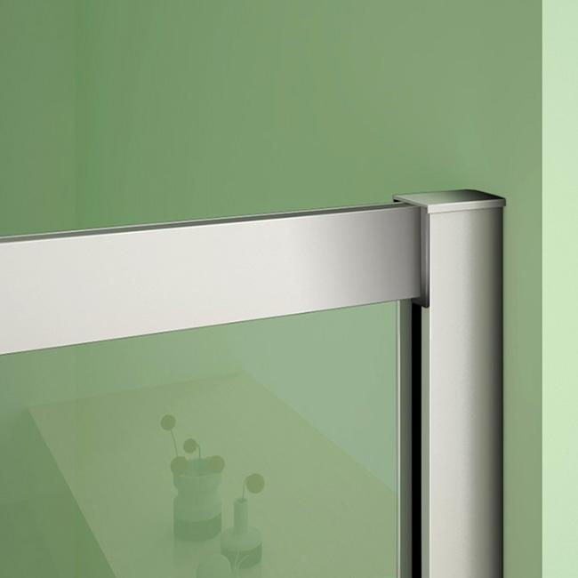 duschkabine eckeinstieg duschabtrennung schiebet r esgglas dusche duschwand 80x80x185cm 8080cr. Black Bedroom Furniture Sets. Home Design Ideas