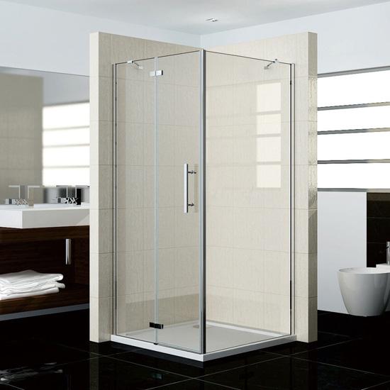 80x76x195cm duschkabine duschabtrennung scharniert r. Black Bedroom Furniture Sets. Home Design Ideas