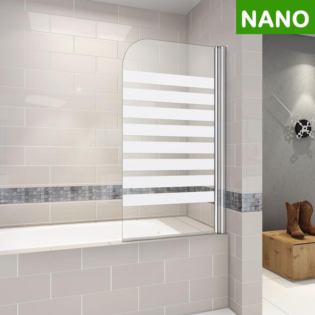 Badewanne Mit Duschwand.Badewanne 2 Tlg Faltwand Duschwand Drehen 180 Duschabtrennung