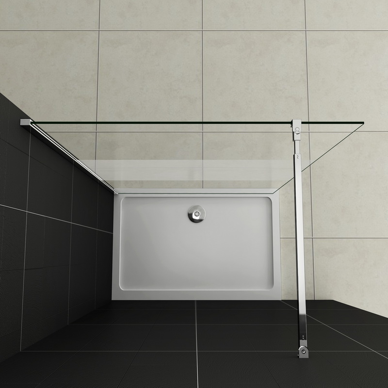 Nischen dusche ohne tur kreatives haus design for Dusche ohne glas